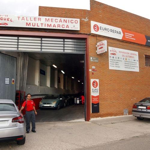 Autos Miguel, taller multimarca en Tordesillas
