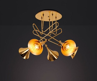 Lámpara colgante cristal modelo 2416: Catálogo de Lámparas M. Córdoba