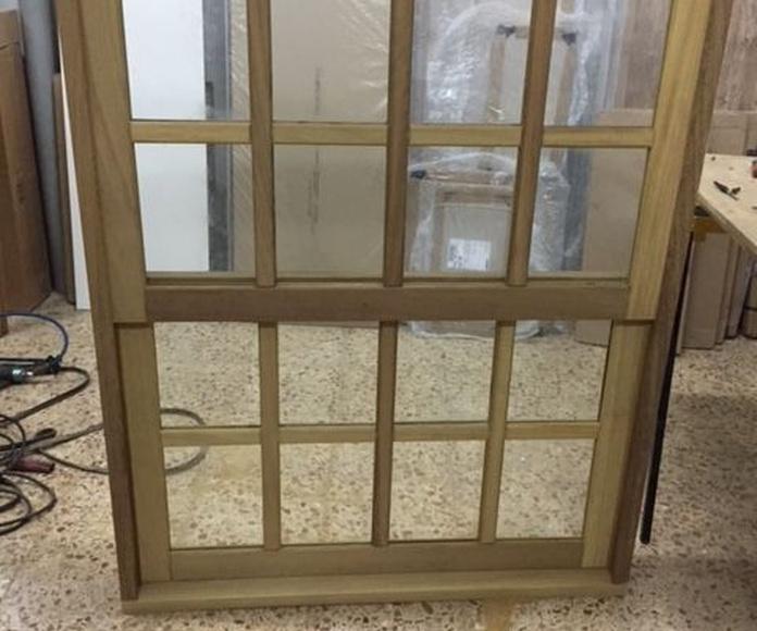 Puertas y ventanas para interior: Productos de Carpintería Jonay