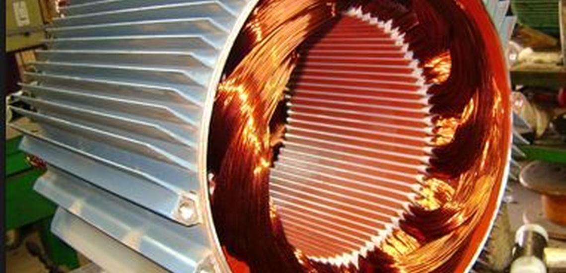 Bobinado de motores eléctricos en Logroño trabaja con este tipo de motor de tu industria