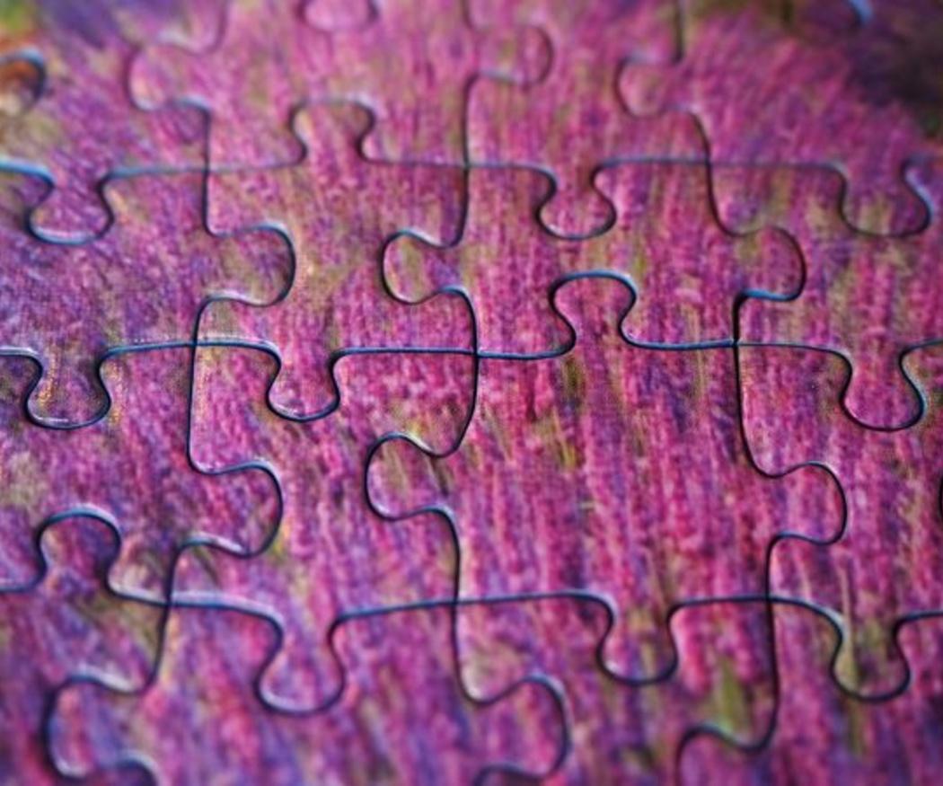Un puzle enmarcado, una nueva manera de decorar