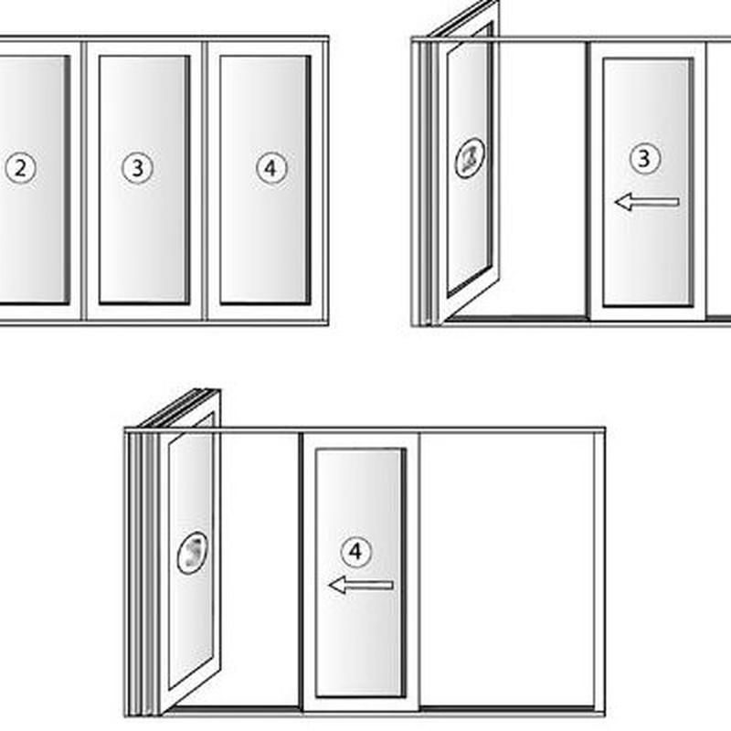 Sistema Open Max y Plegable: Servicios de JRG Aluminio- PVC