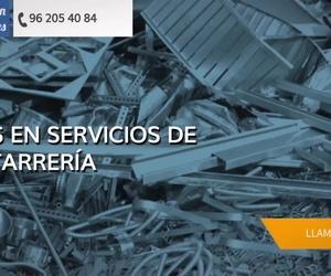 Recogida de chatarra en Valencia | Rancón Metales