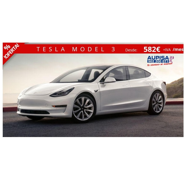 Tesla model 3: Vehículos de Ocasión de AUPISA Rent | Tu vehículo de alquiler