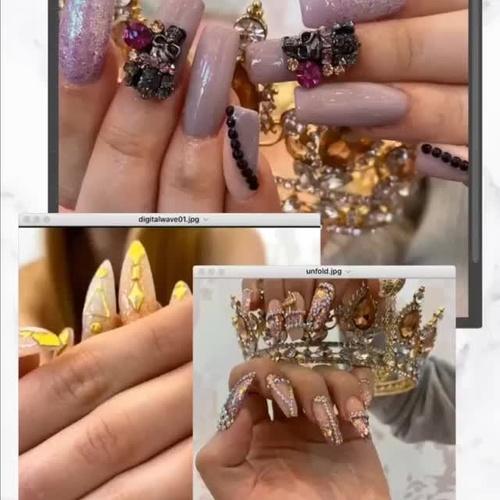 Arte en estado puro sobre tus uñas