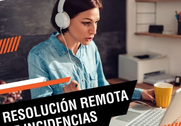 Resolución de remota de incidencias informáticas