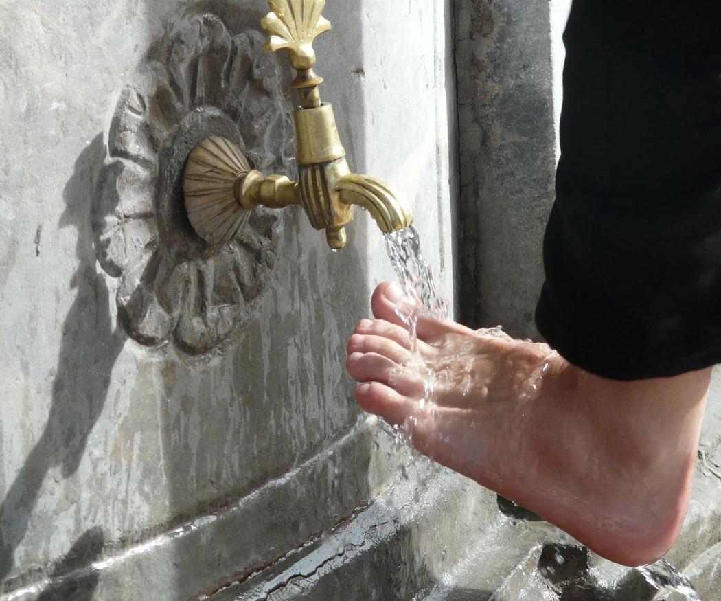 La higiene de tus pies