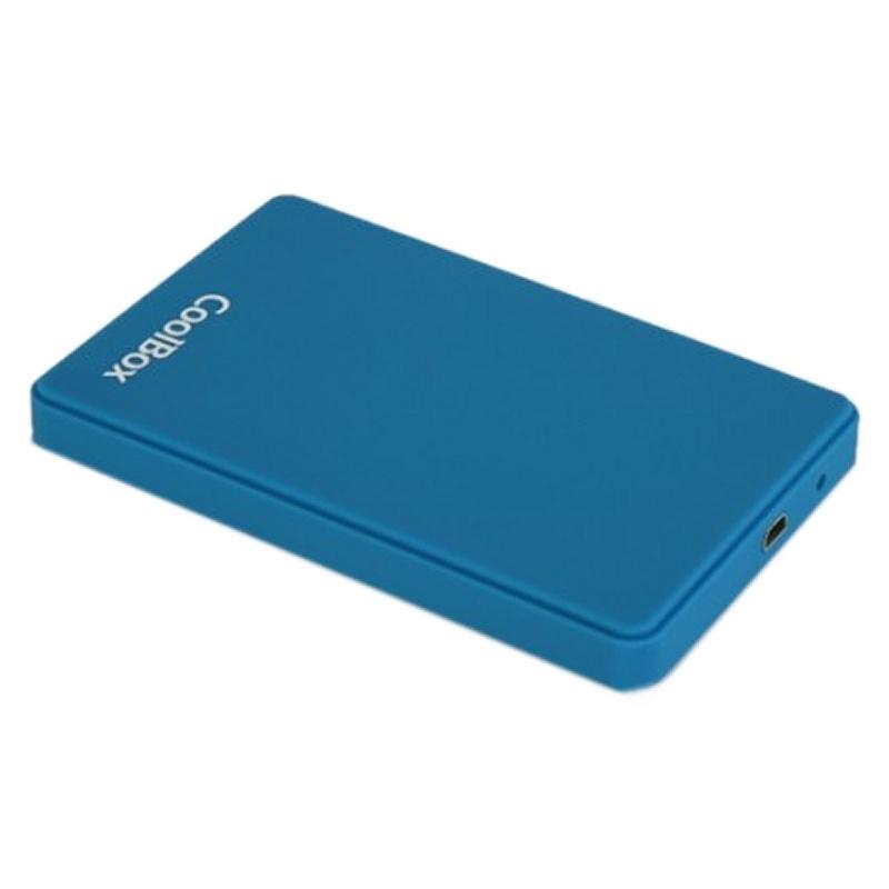 CoolBox caja HDD SCG2543 2.5' 3.0 Azul: Productos y Servicios de Stylepc