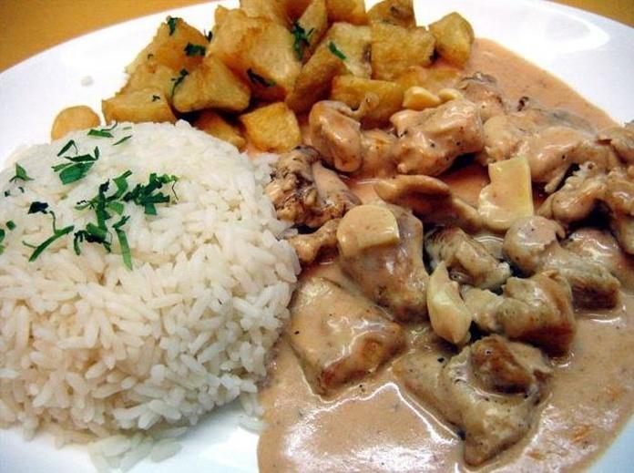 Solomillo de Cerdo Strogonoff: CARTA EL SEVILLANO de Restaurante Sevillano