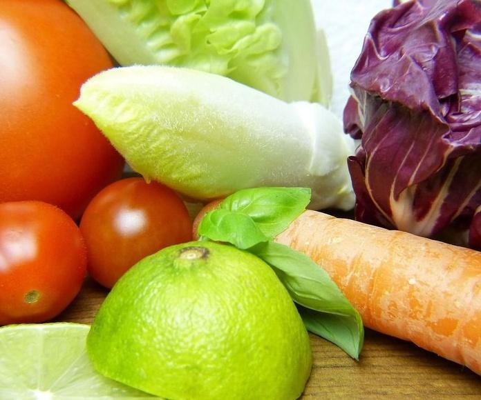 Menú vegano en Bakio