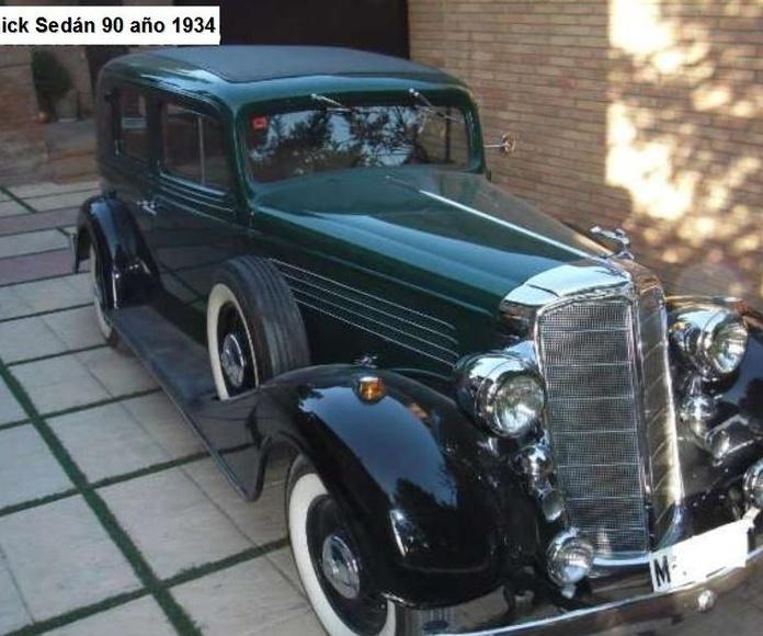 Alquiler de coches de colección para eventos en Granada