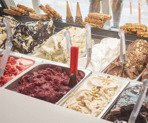 Gran variedad de helados