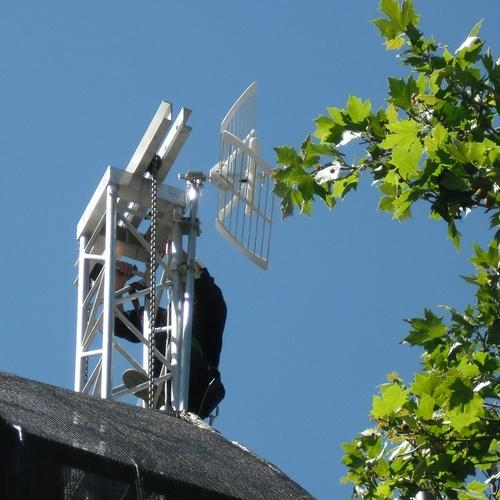 Antena terrestre optimizada para TDT