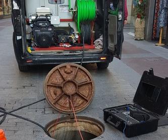 Localizaciones de fugas de agua mediante sonido y gas: Servicios de Desatascos El Toro