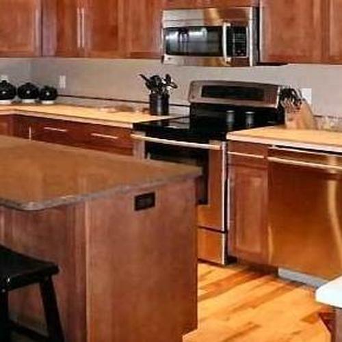 Muebles para cocina con diseño clásico