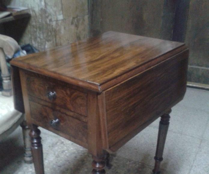 Mesa costurero