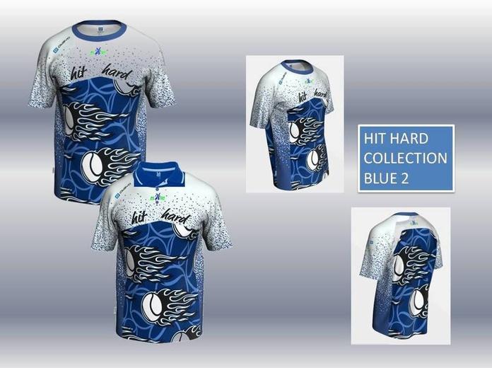 HIT HARD COLLECTION BLUE 2:  de ES POR TRI