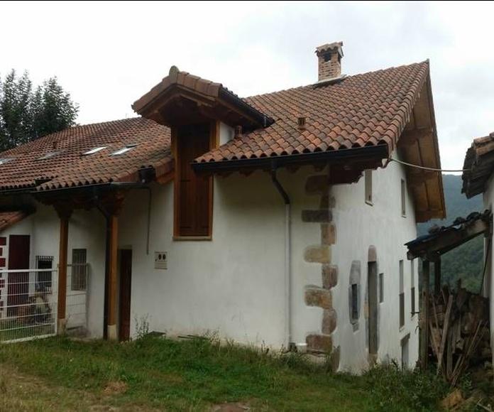 Rehabilitación de casas antiguas: Servicios de Construcciones Elizaga Mugika