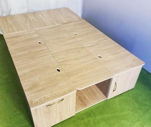 Mueble Salón-Cama L (hasta 120x120x40cm)