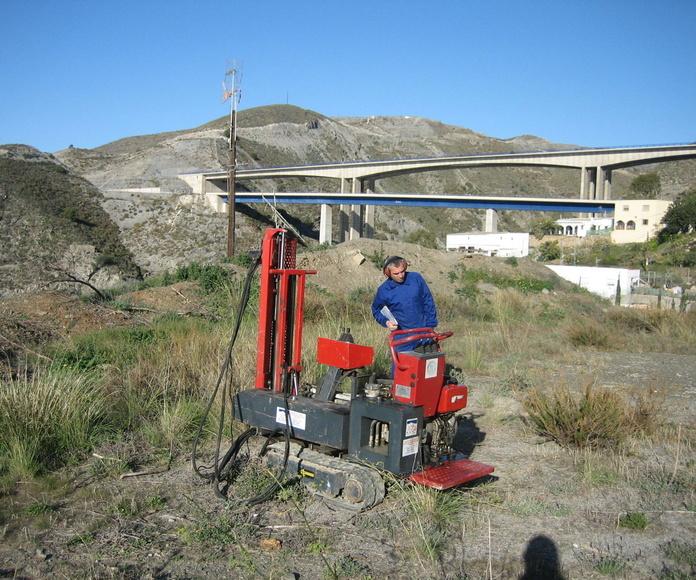 Estudio geotécnico en Albuñol (Granada)