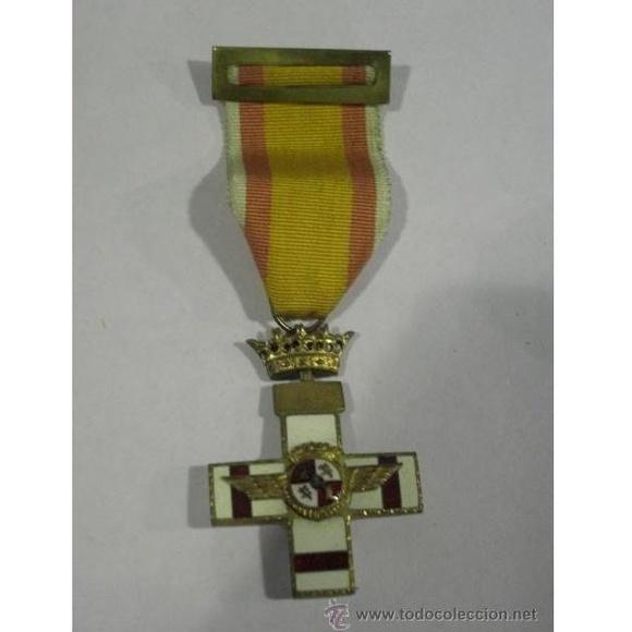 Cruz del Mérito Aéreo. Pensionada. 1ª Época de Franco: Catálogo de Antiga Compra-Venta