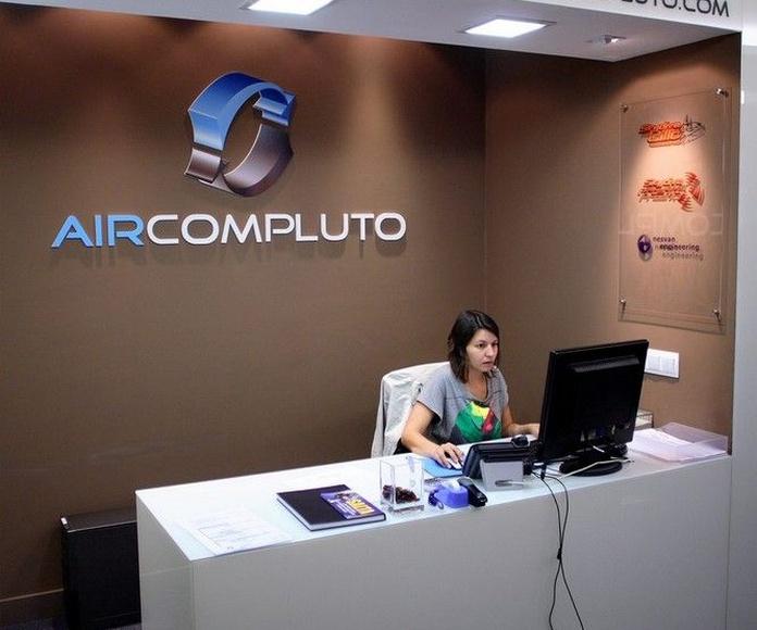 Oficinas. Air Compludo: Proyectos Integrales de comtres