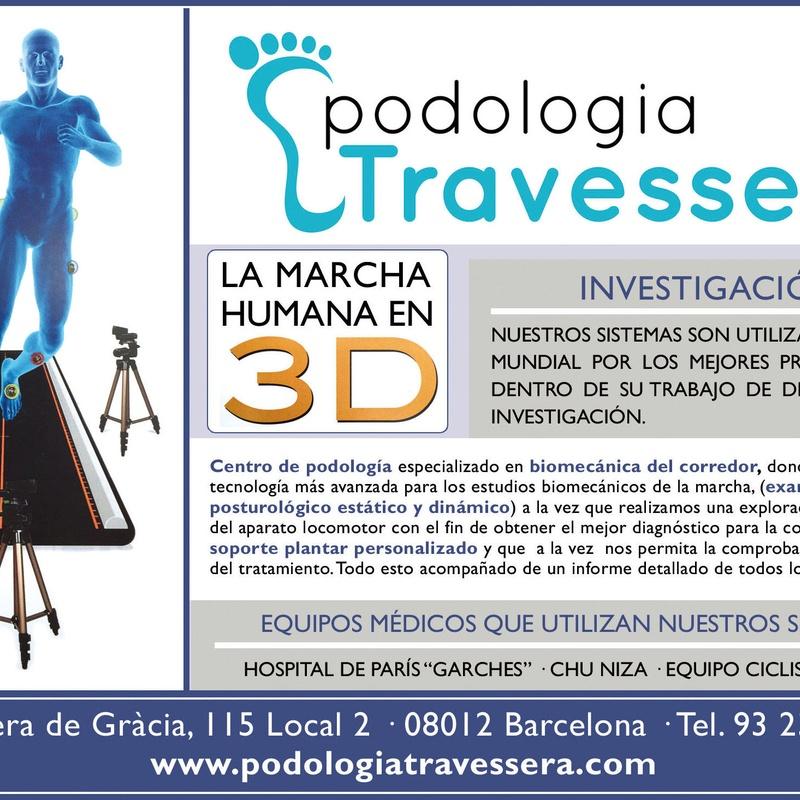 Biomecánica de la marcha: CATÁLOGO de Podologia Travessera