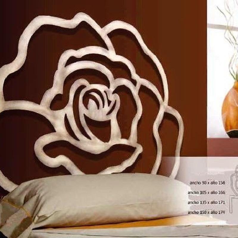 Cabecero forja Rosa África: Catálogo de muebles de forja de Forja Manuel Jiménez