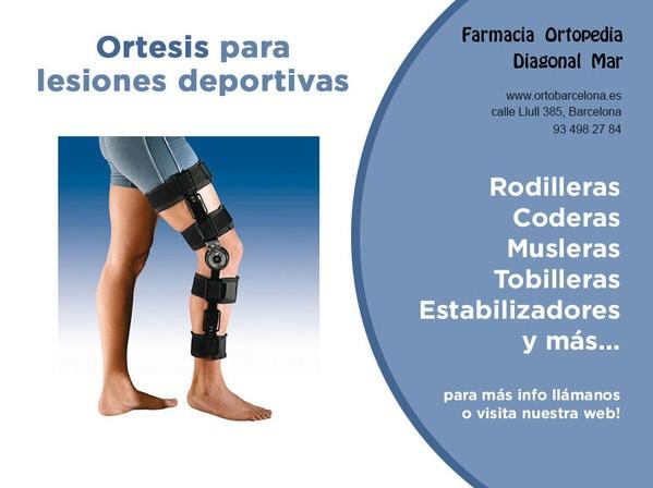 Ortopedia lesiones deportivas