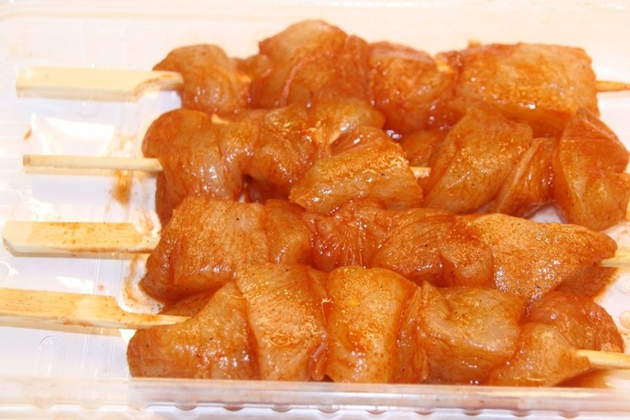 Pinchos de pollo adobados: Productos de Lucas Gourmet