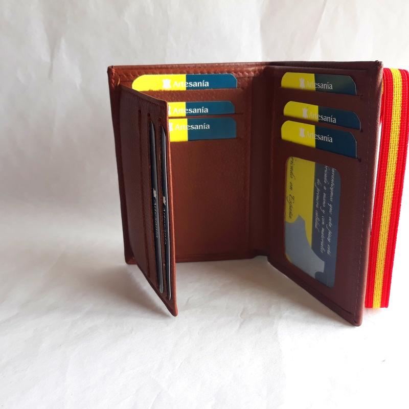 Cartera de Caballero 831 ELASTICO: Catálogo de M.G. Piel