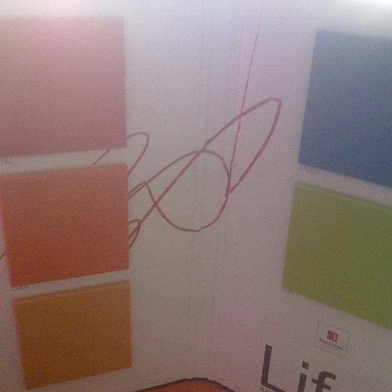 Colores expositor de silestone