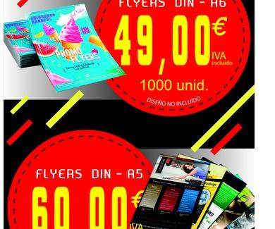 Oferta flyers DIN A6