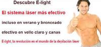 OLVIDATE DE DEPILARTE CON  FOTODEPILACIÓN E-LIGHT