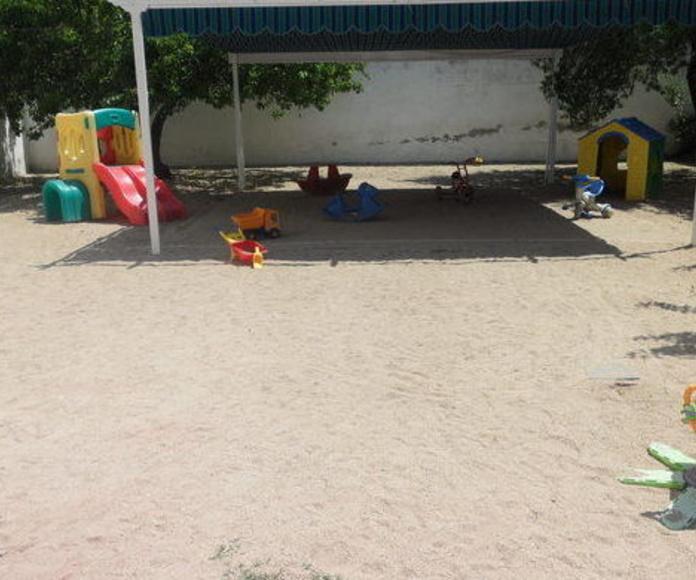 Patio: Servicios de Escuela Infantil Pequesol