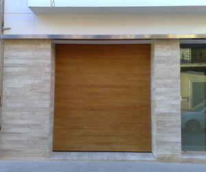 Seccional de madera maciza teka