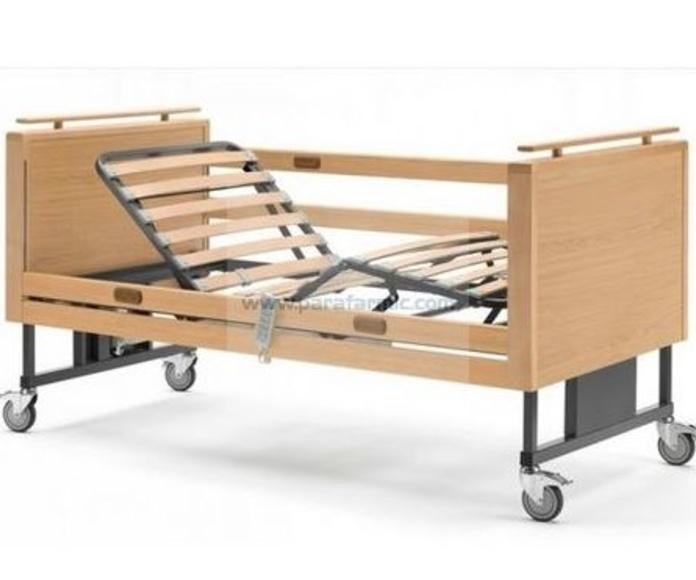 Cama eléctrica articulada de madera Aneto