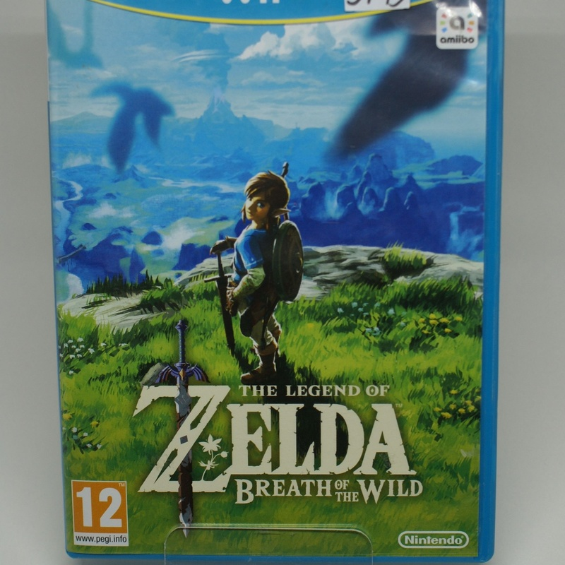 WII U THE LEGEN OF ZELDA BRATH OF THE WILD: Compra y Venta de Ocasiones La Moneta