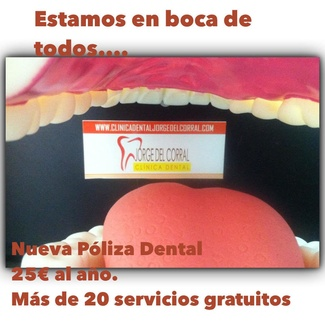 Póliza dental familiar.