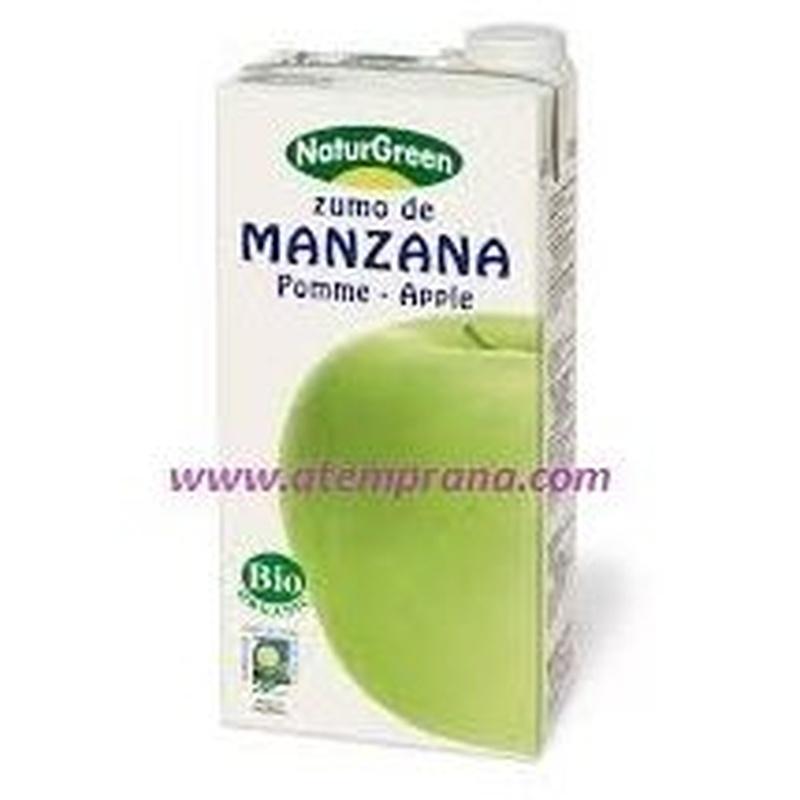 zumo manzana