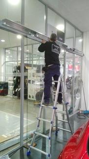Puerta de cristal rápida Farem Deluxe Sedaví Valencia