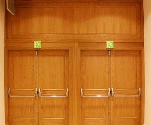 Puertas Cortafuegos batientes madera contra incendios