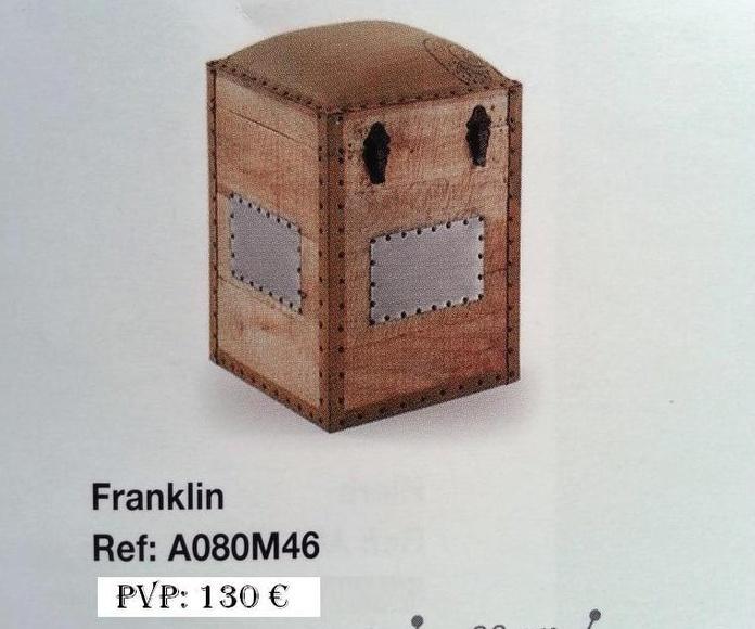 Colección Back in time - Cajón madera