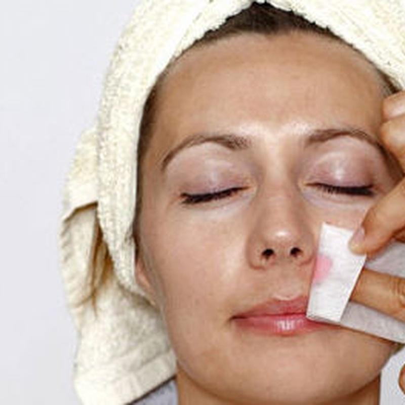 Higiene facial con extracción: Servicios de Salón de Peluquería y Estética Stimage