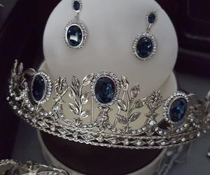 Tiara Rusia, plata & Swarovski