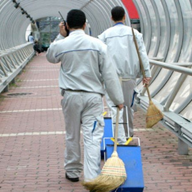 Características del servicio de limpieza de centros comerciales