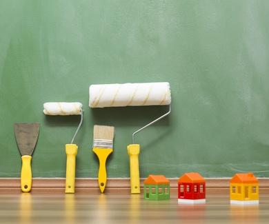 Las herramientas del pintor