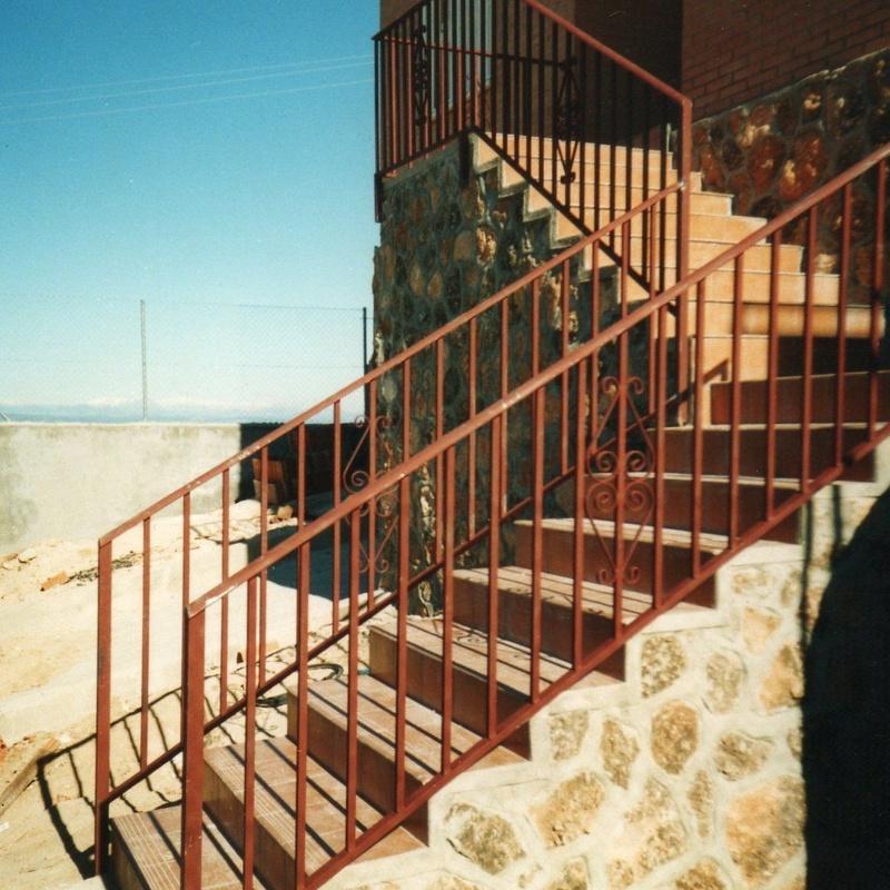 Barandilla de escalera.