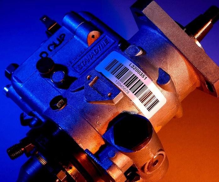 Etiquetado en Industria y Automoción