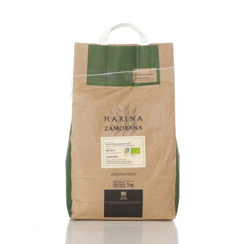 Harina de trigo ecológica blanca W-200 5 kg: Productos de Coperblanc Zamorana